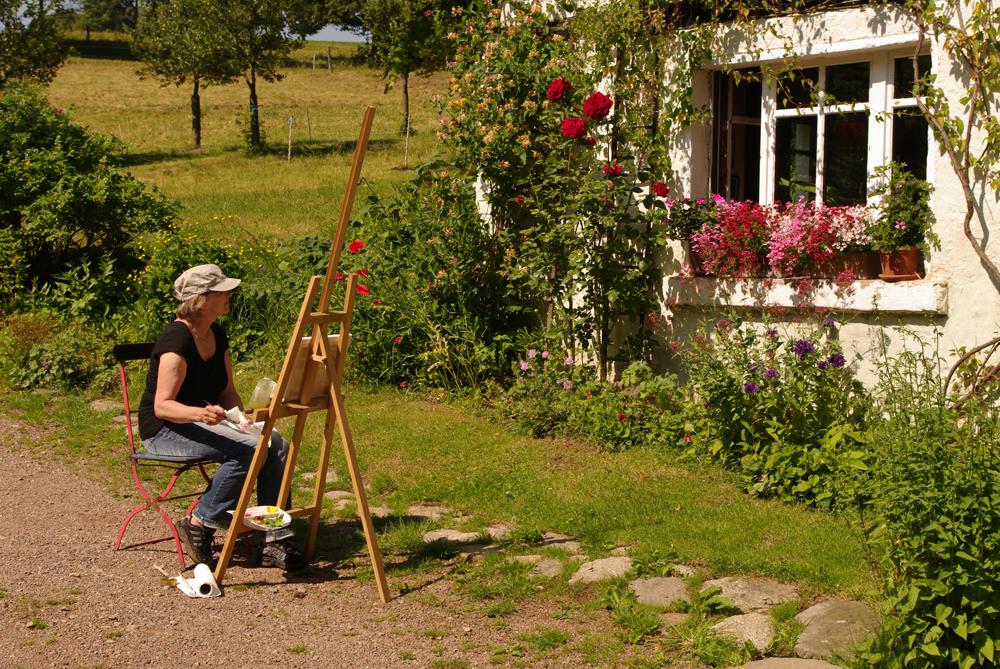 Kunstferien im Hofefeld/Frauenstein 21. – 28. Juni 2014