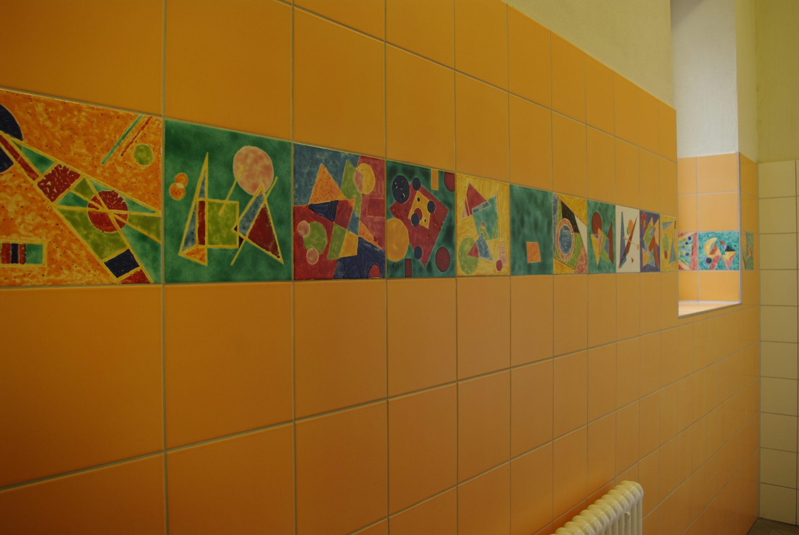 Das Fliesenprojekt – 2009 Freie Waldorfschule Dresden B