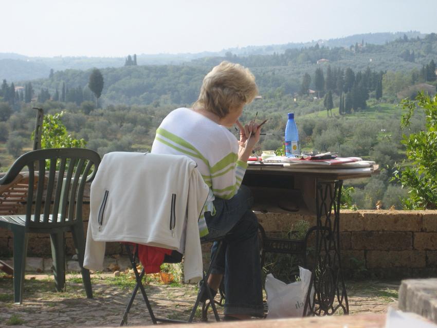 Malreise 2006 Toskana