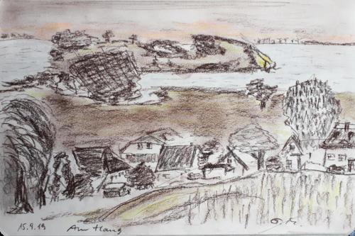 Ausblick vom Bakenberg
