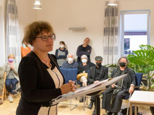 Frau Ritter, OB Radeburg, Begrüßung