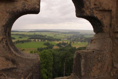 Blick von der Burgruine