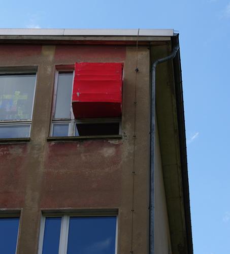 Durchs Fenster