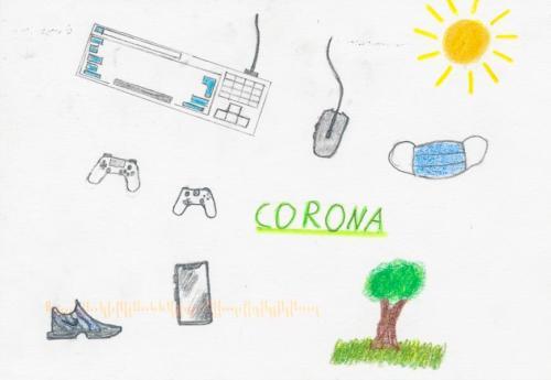 Corona Eintönigkeit