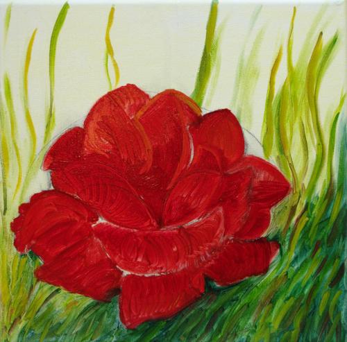 Rose I BW blog